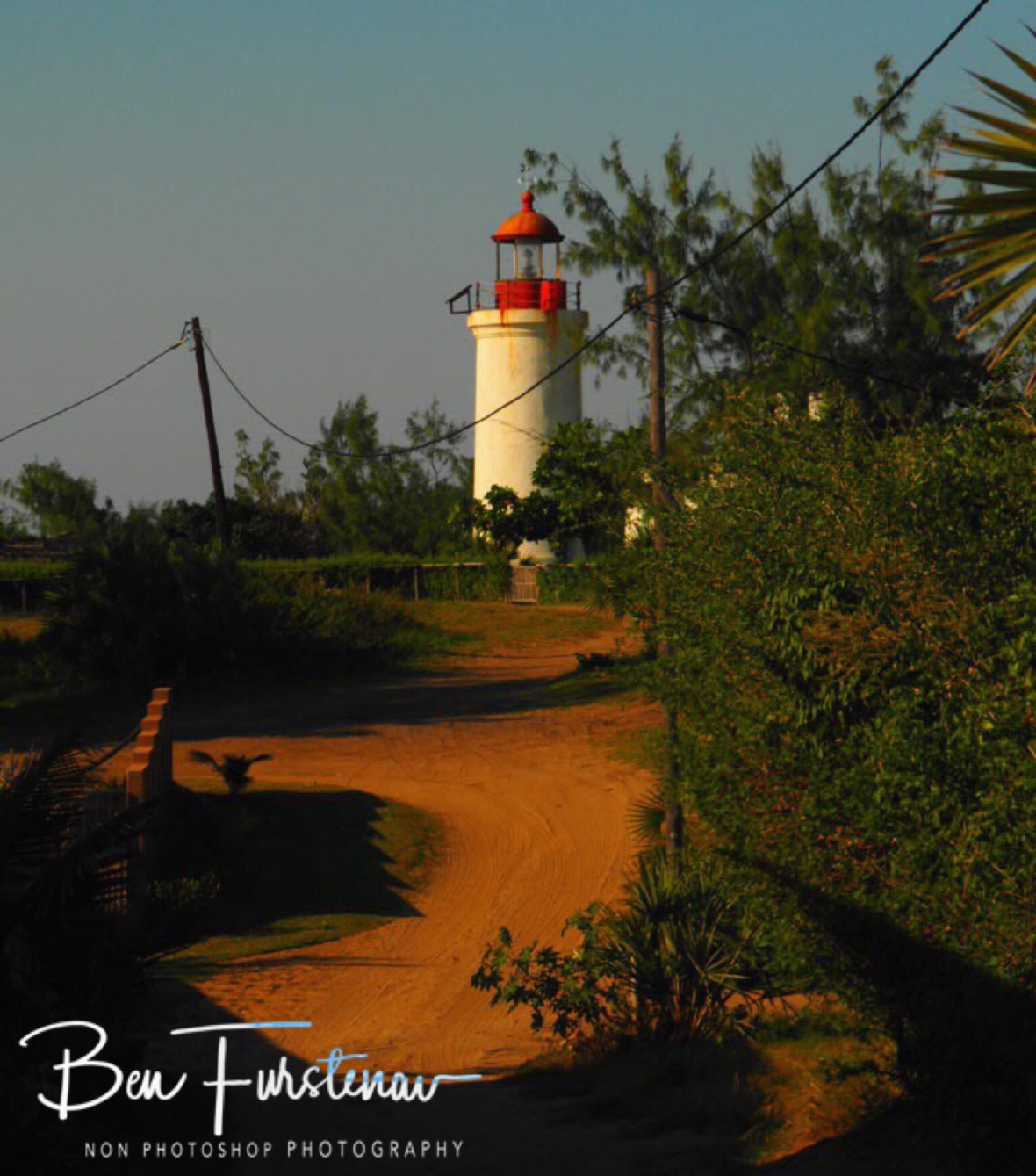 4 WD track to the lighthouse, Barra beach, Inhambane, Mozambique