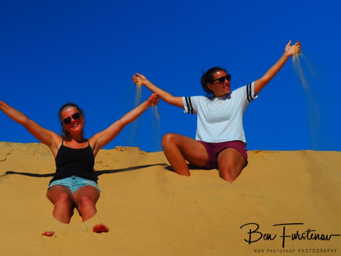 Sand fun, Bazaruto Island, Vilankulo