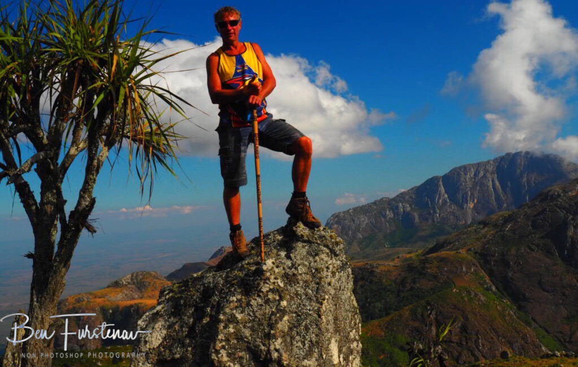 High above Mulanje Mountains, Malawi