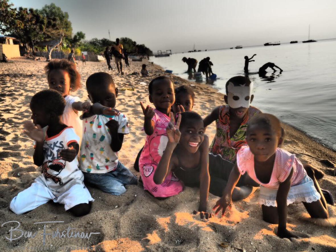 Fishing crew performance in Chembe, Cape Maclear, Lake Malawi, Malawi