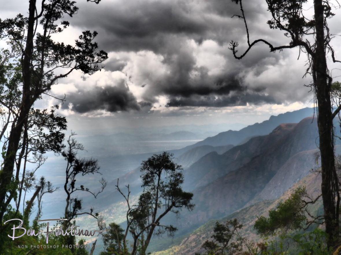 Dramatic near and far, Mulanje Mountains, Malawi