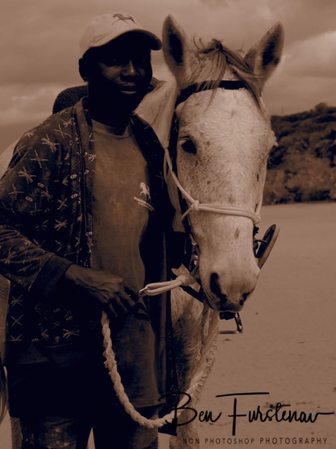 Ernaldo and Texas, Vilankulo, Mozambique