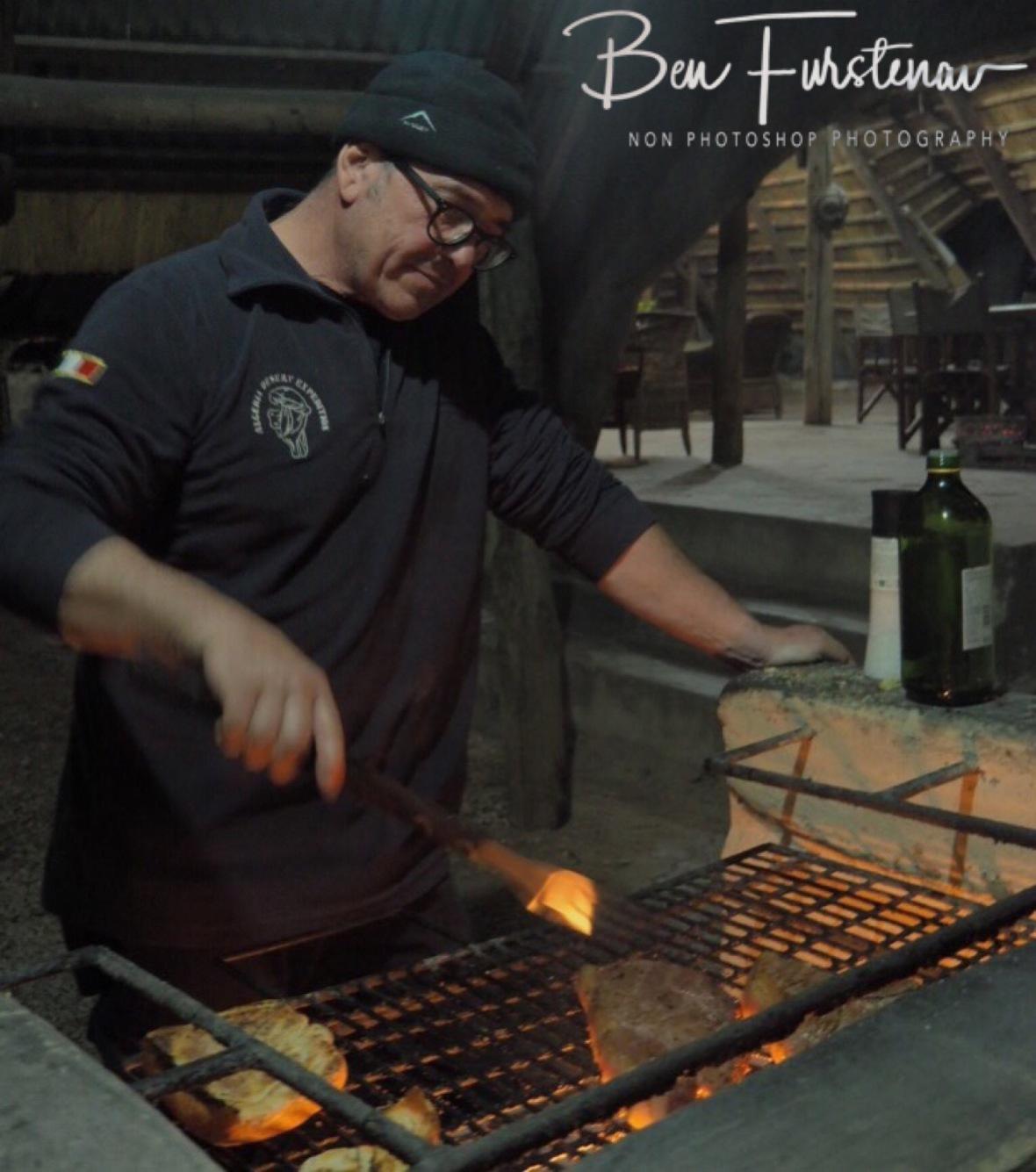Italian Chef Claudio, Pioneer Camp, Lusaka, Zambia