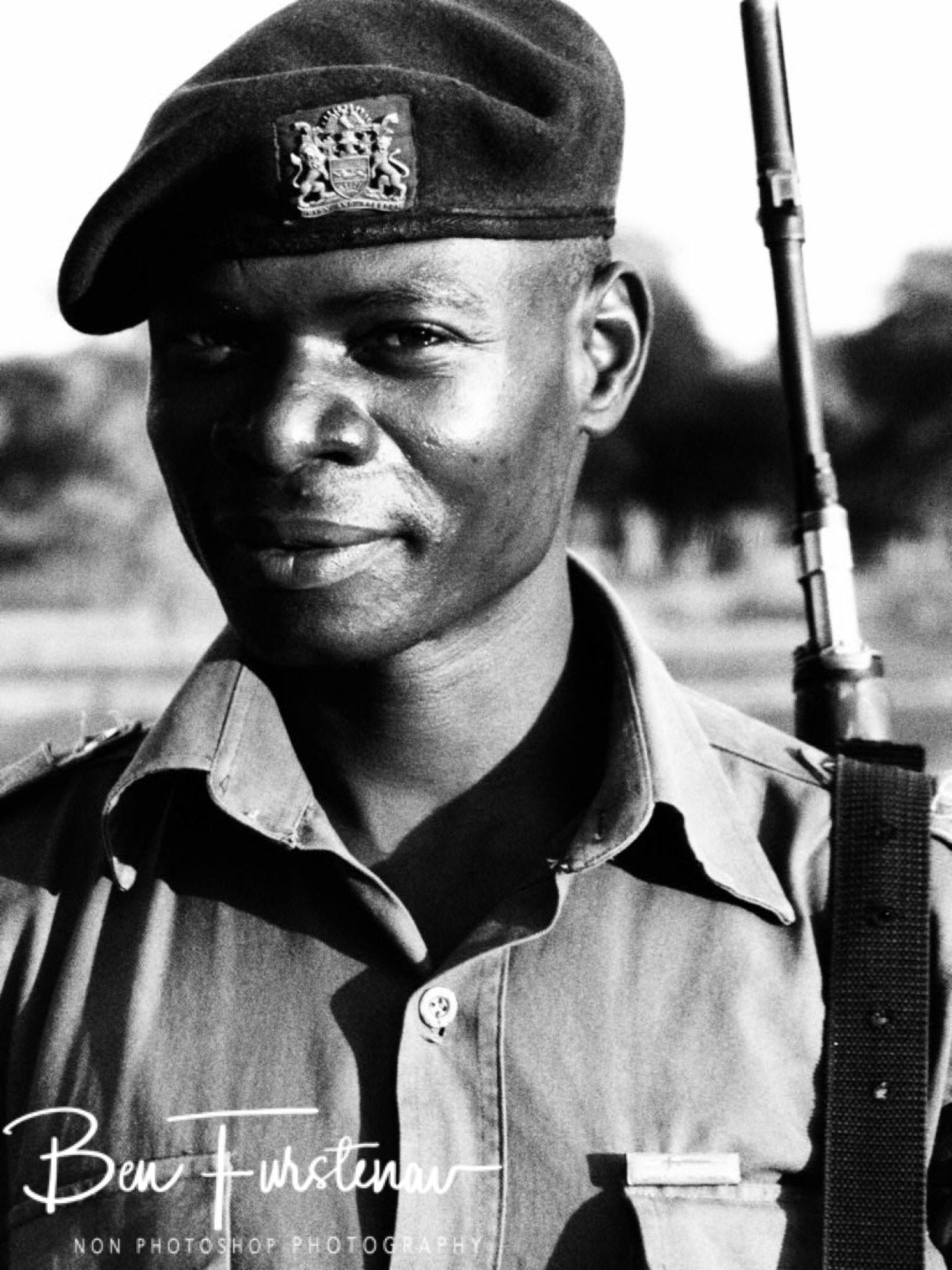 Handsome ranger Joseph, Vwaza Marsh National Reserve, Malawi