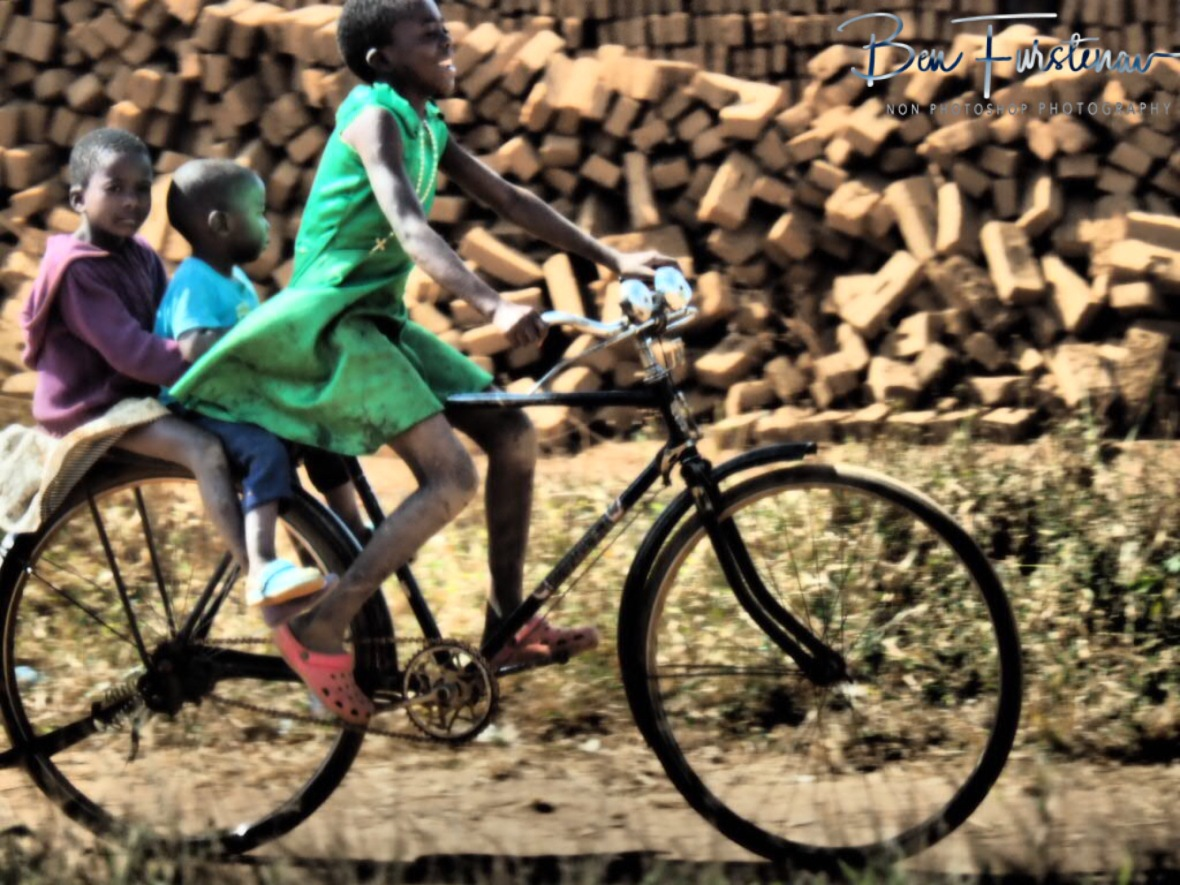 Kids taxi, Lilongwe Region, Malawi