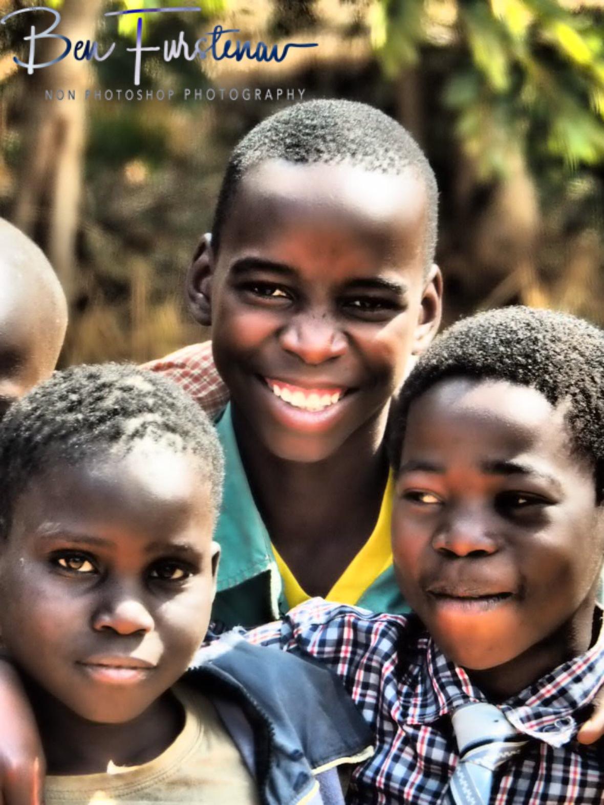 Happy faces, Lilongwe Region, Malawi