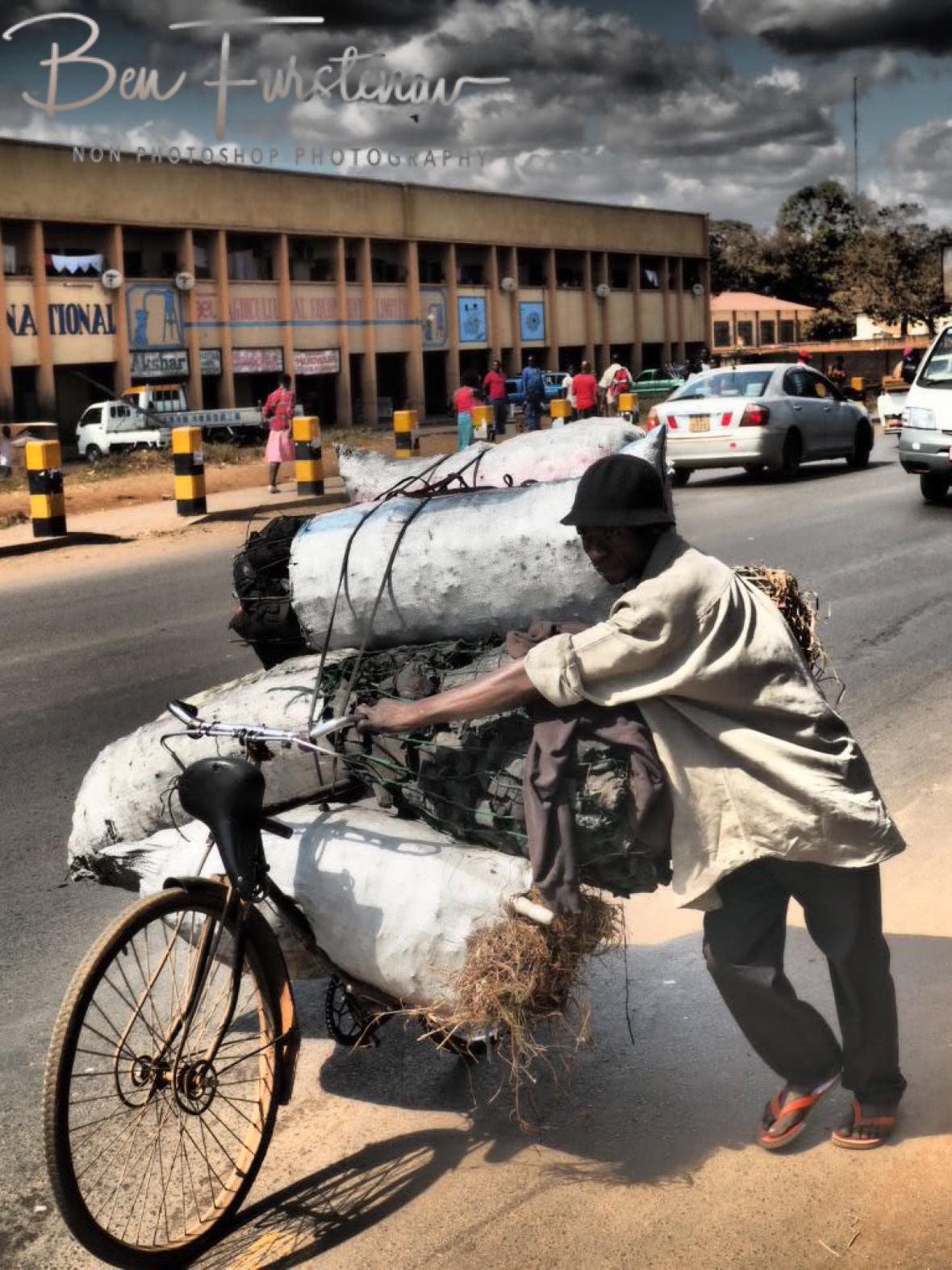 Full load of charcoal, Lilongwe, Malawi