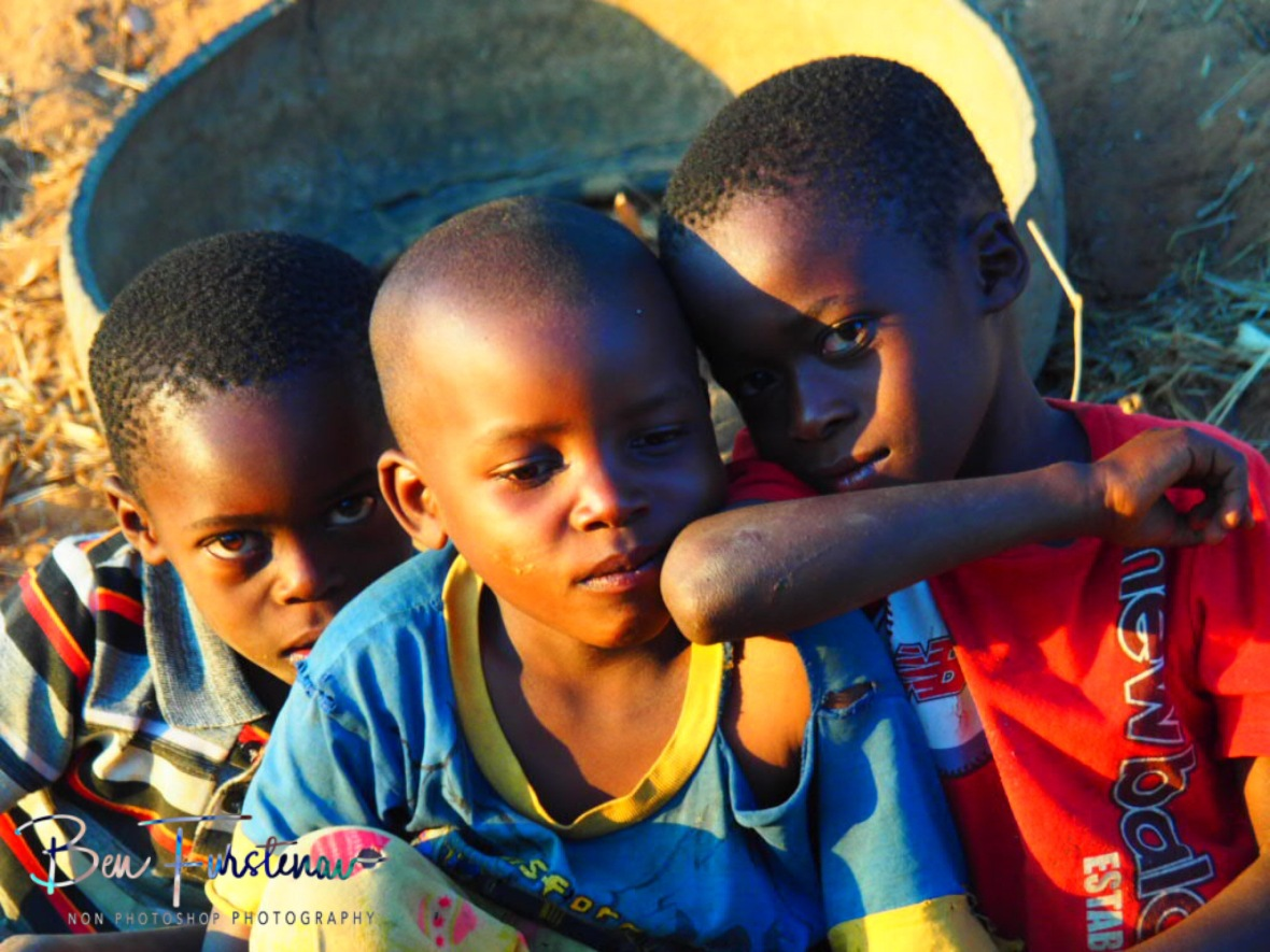 Sun kissed kids, Northern Region, Malawi