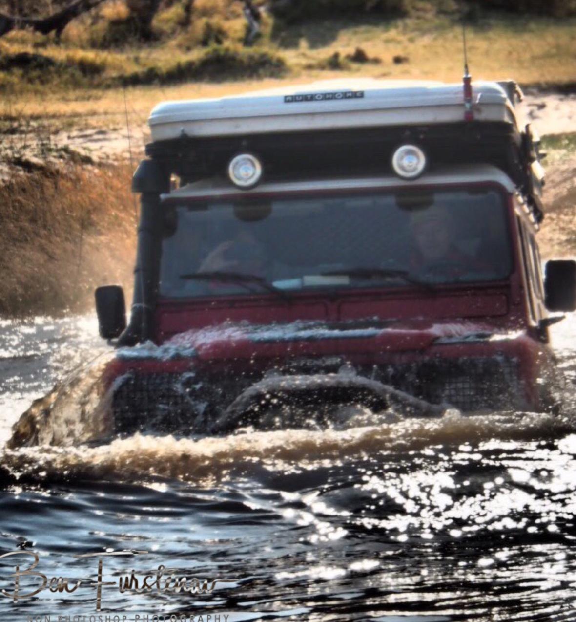 Almost there, Kwai Region, Okavango Delta, Botswana