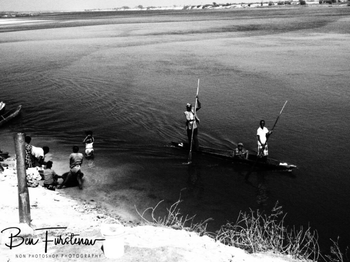 Zambezi River, lifeline in Lukulu, Zambia