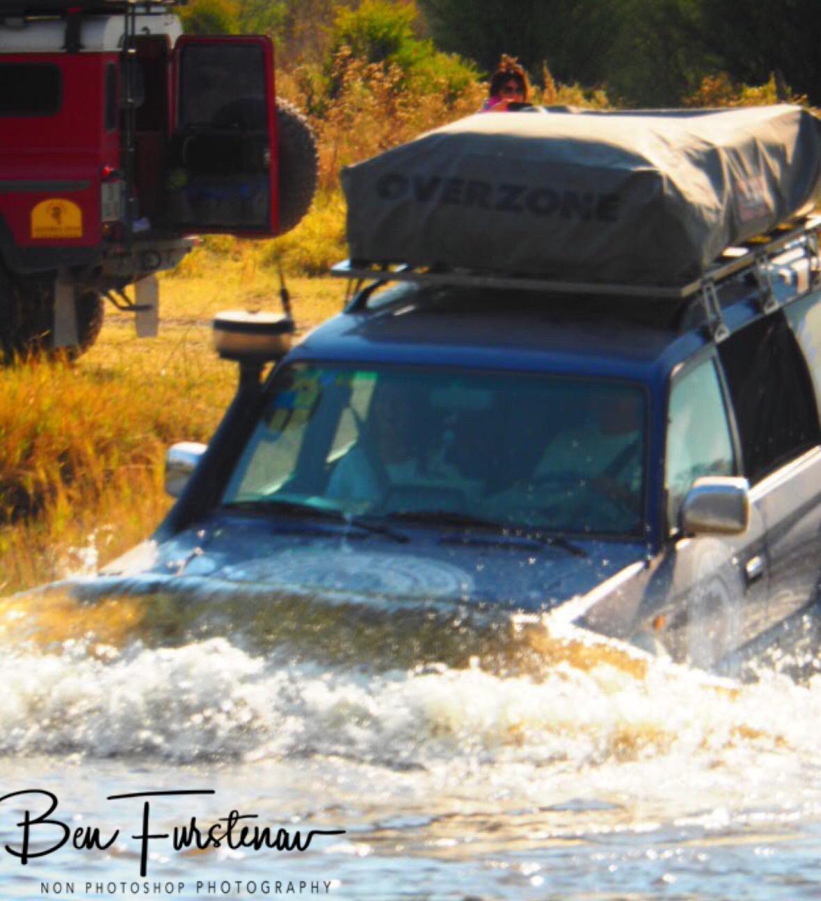 Oops, left the window open, Kwai Region, Okavango Delta, Botswana