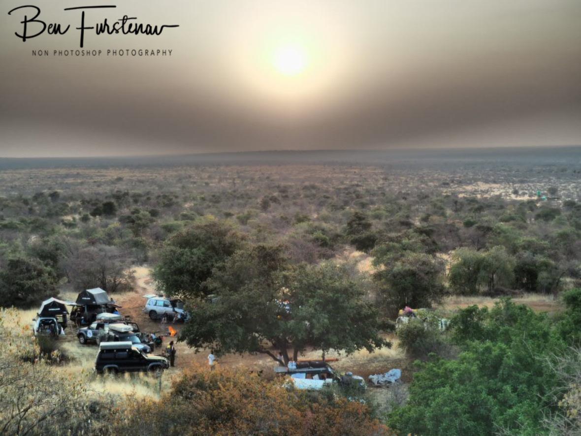Italian closeness, Kalahari desert, Okavango Delta, Botswana