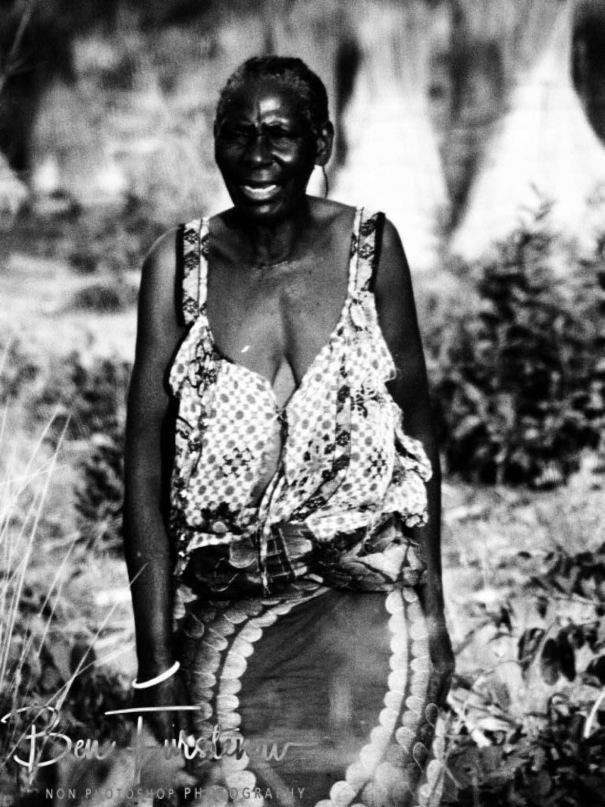 Grandma speaks out near Lukulu, Zambia
