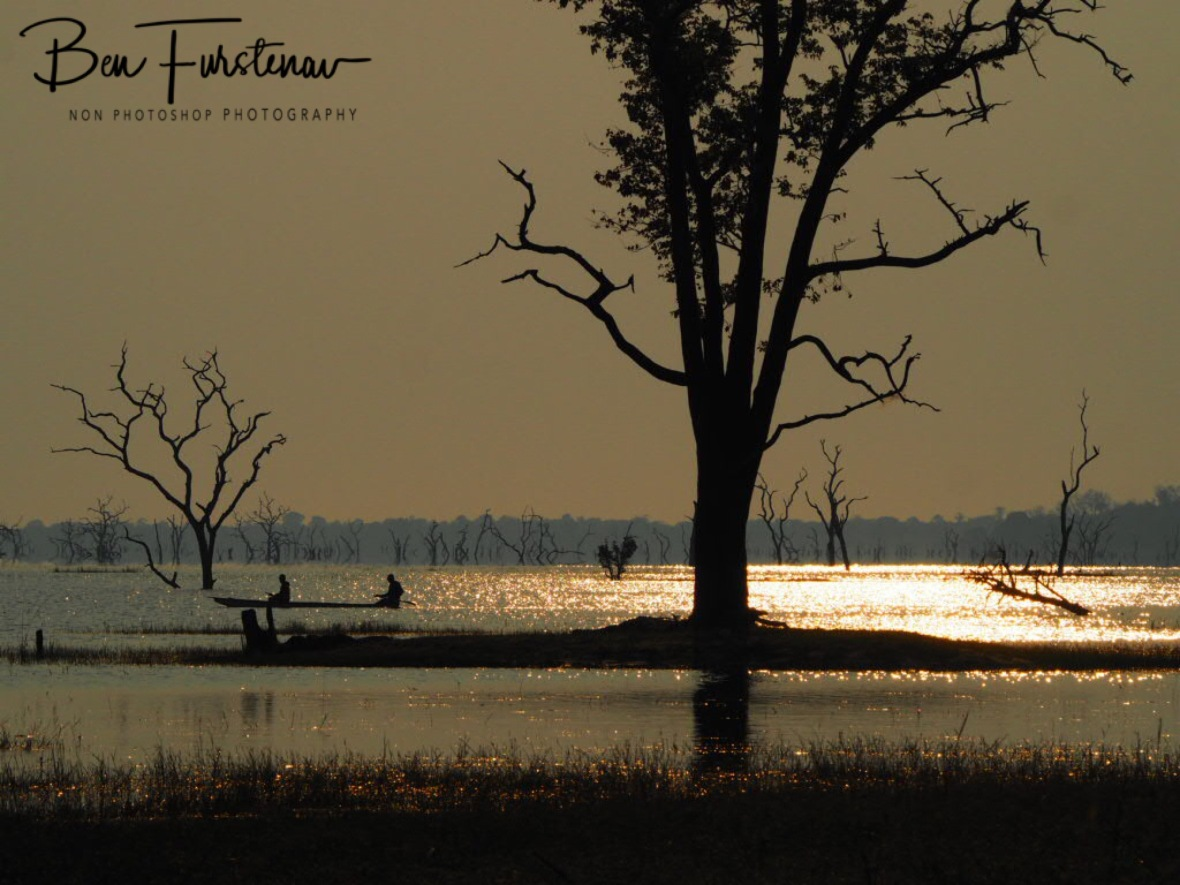 Early mornings at Ithezi-Thezi lake, Kafue National Park, Zambia