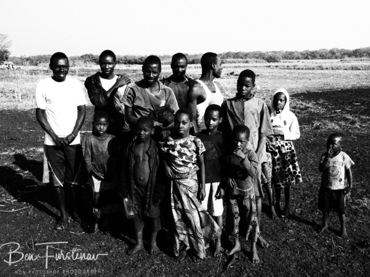Community group photo, Liuwa Plains National Park