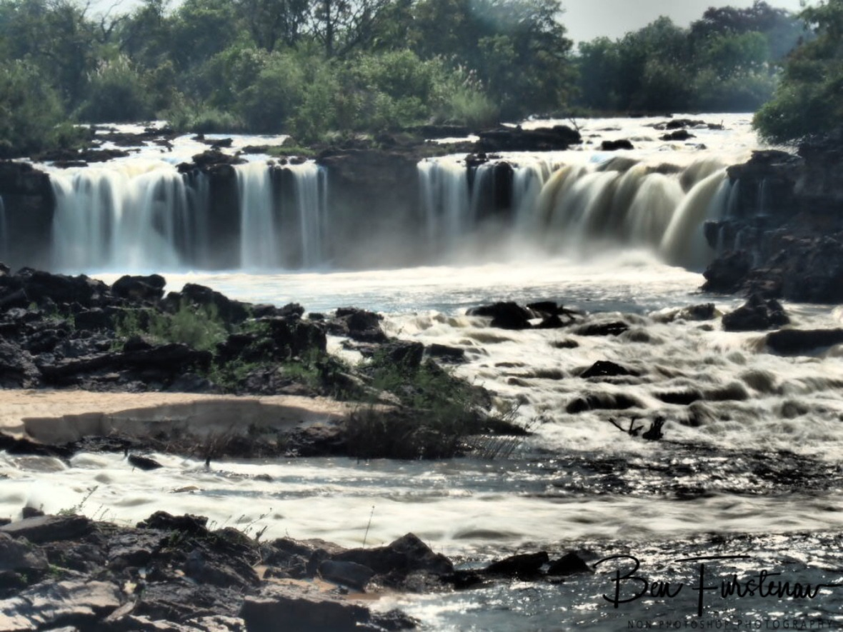 The closest cascades at Sioma Falls, Zambia