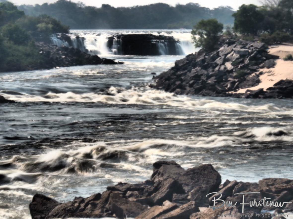 One of Seven cascades, Sioma Falls, Zambia
