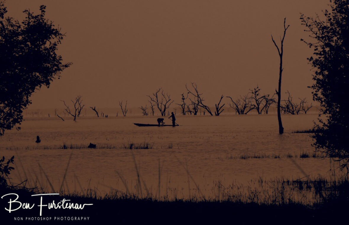 Early morning fishermen, Kafue National Park