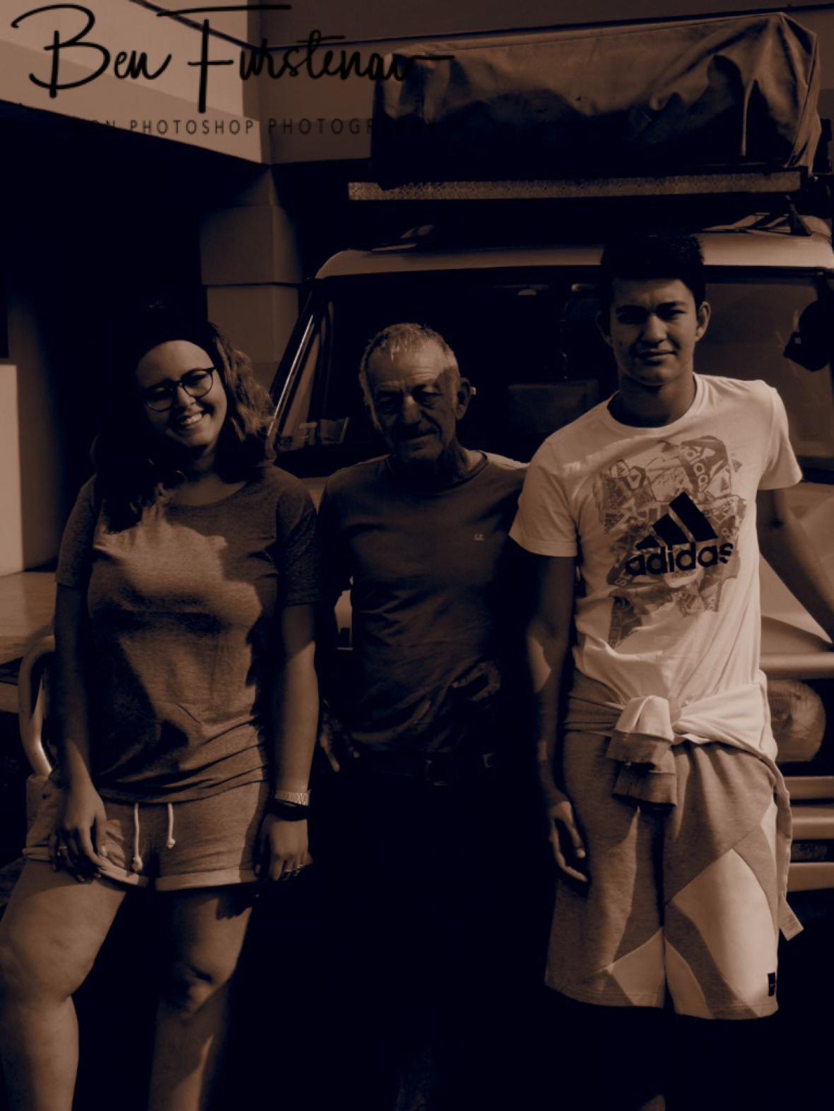 Jasemine, Giancarlo and Riccardo in Mundo, Zambia