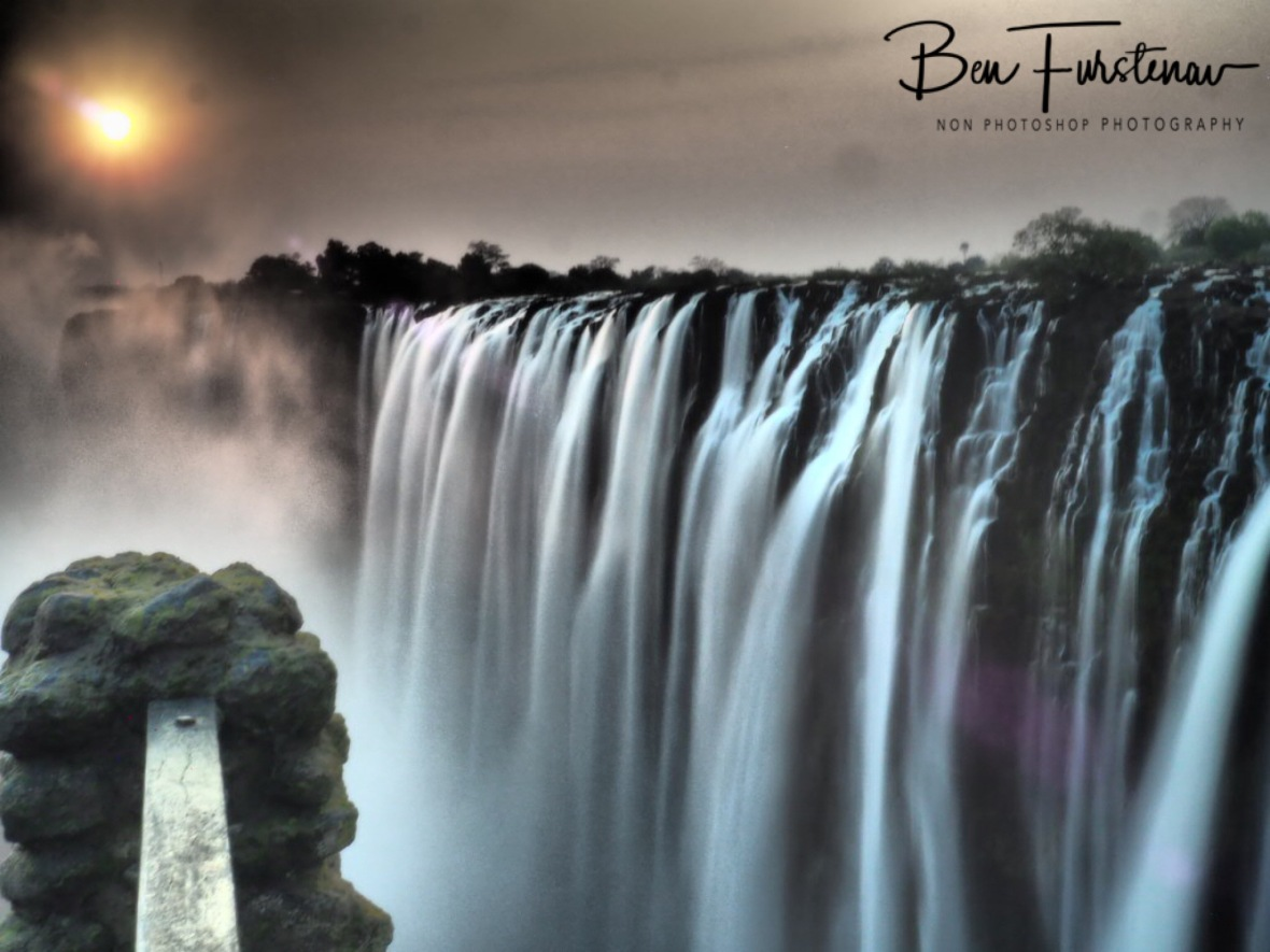 Impressive Victoria Falls from all angles, Zambia