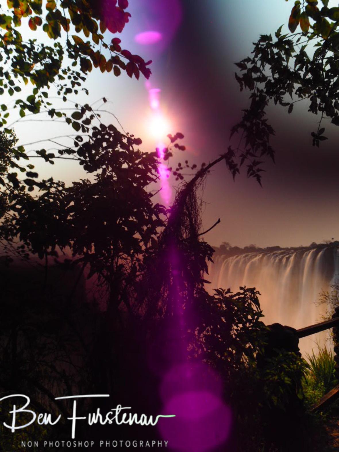 Ultra violet rays, Victoria Falls, Zambia
