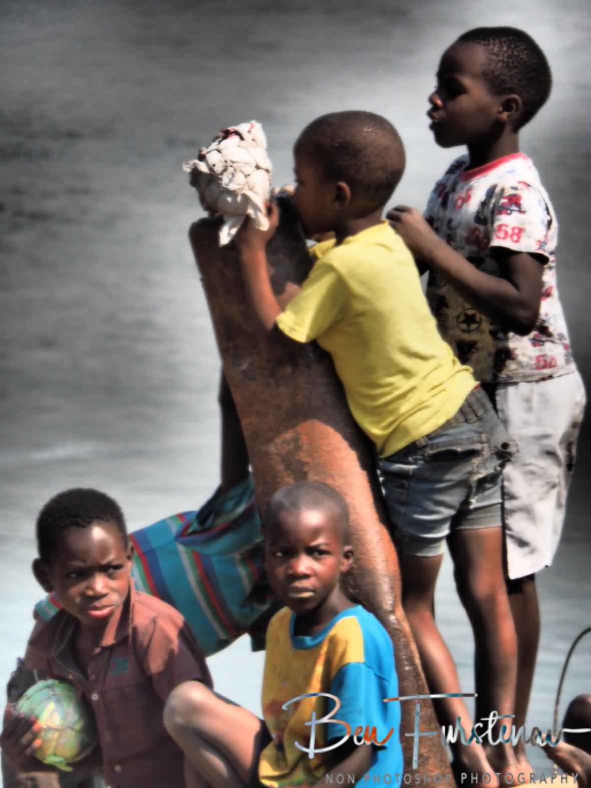 Ferry post, Lukulu, Zambia
