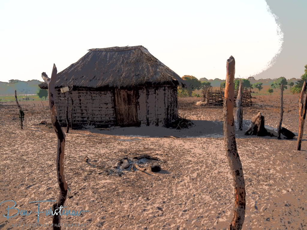Another small community, Liuwa Plains National Park, Zambia