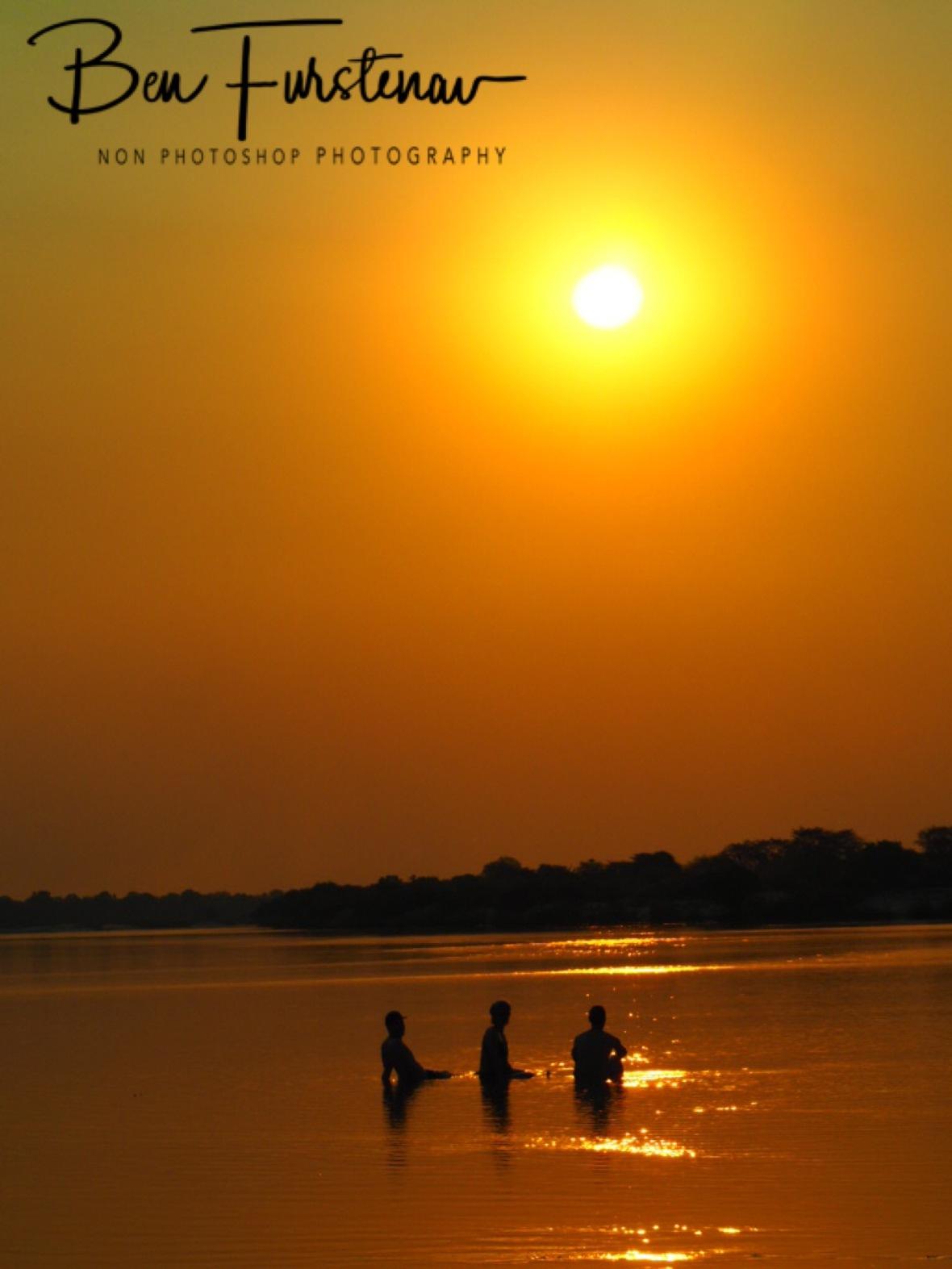 Sunset over the Zambezi River, Katima Mulilo, Namibia
