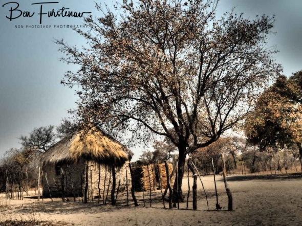 Xai-Xai village, Kalahari desert, Botswana