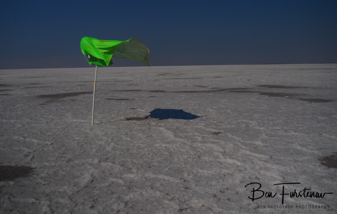 Moon landing? Kubu Island, Makgadikgadi Salt Pans, Botswana