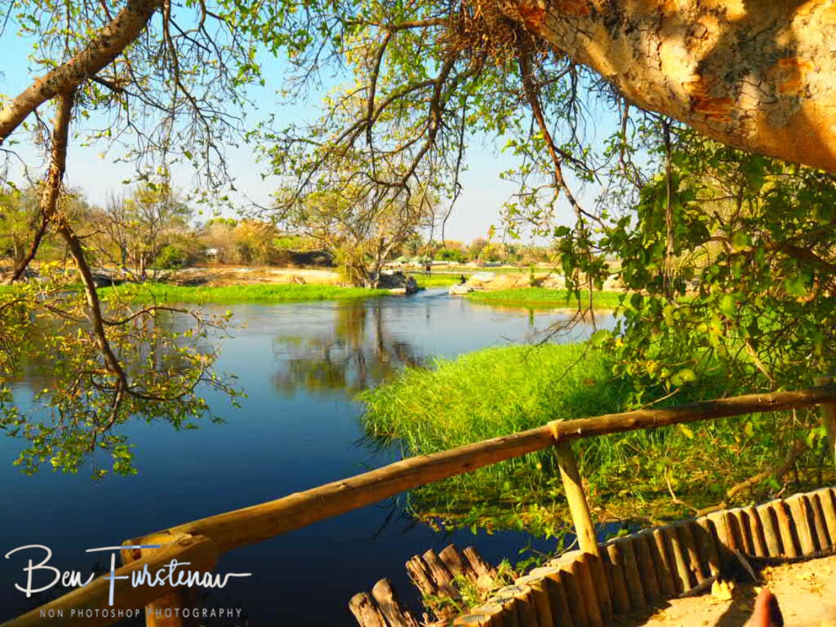 Down by the river, Maun, Botswana