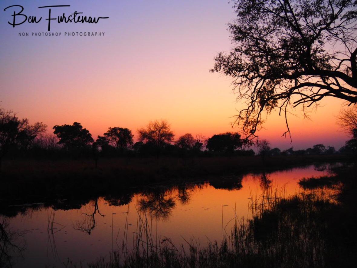 Tranquil morning at Nkasa National Park, Namibia