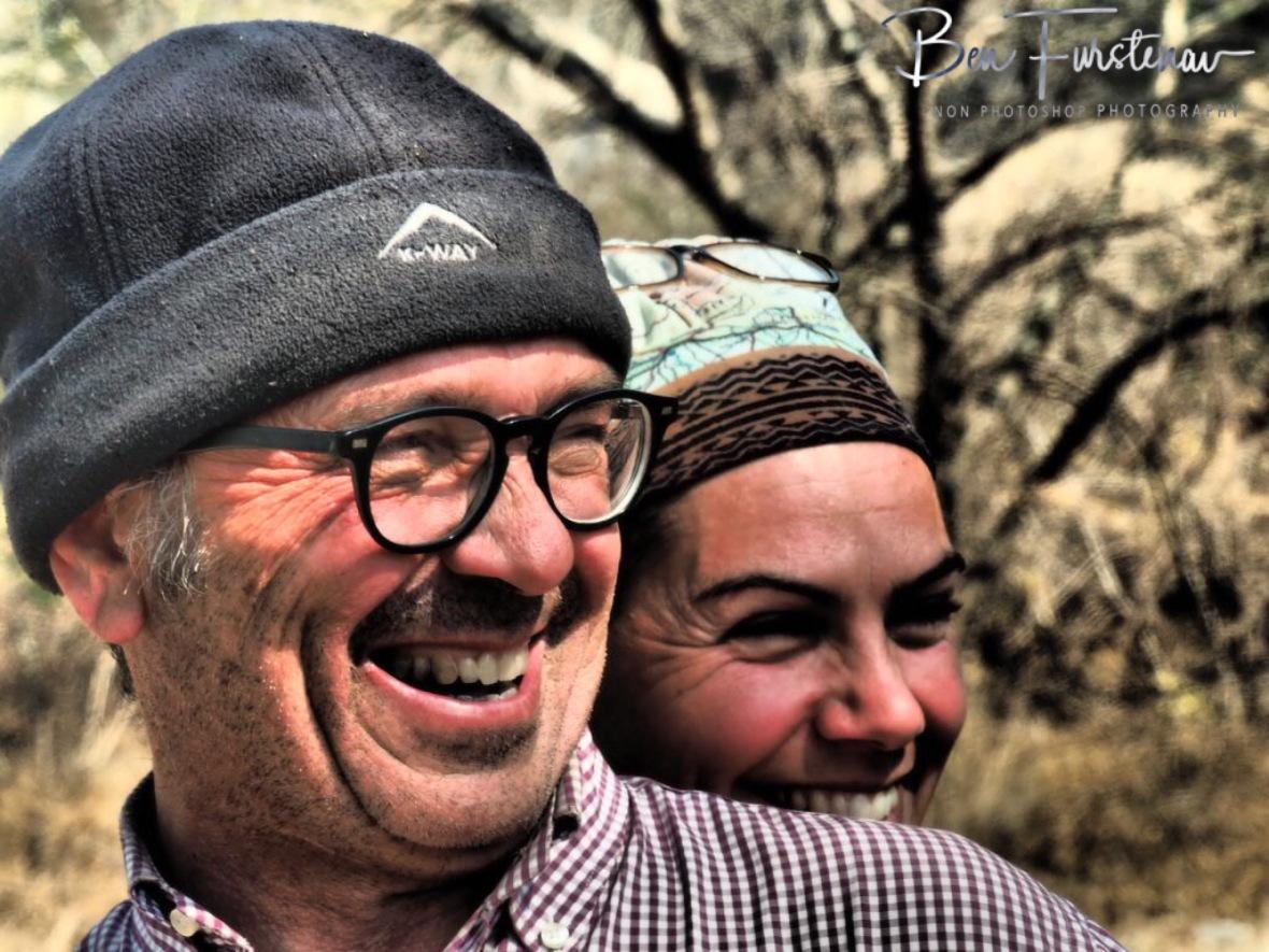 Legendary smiles, Tsolido Hills, Kalahari desert, Botswana