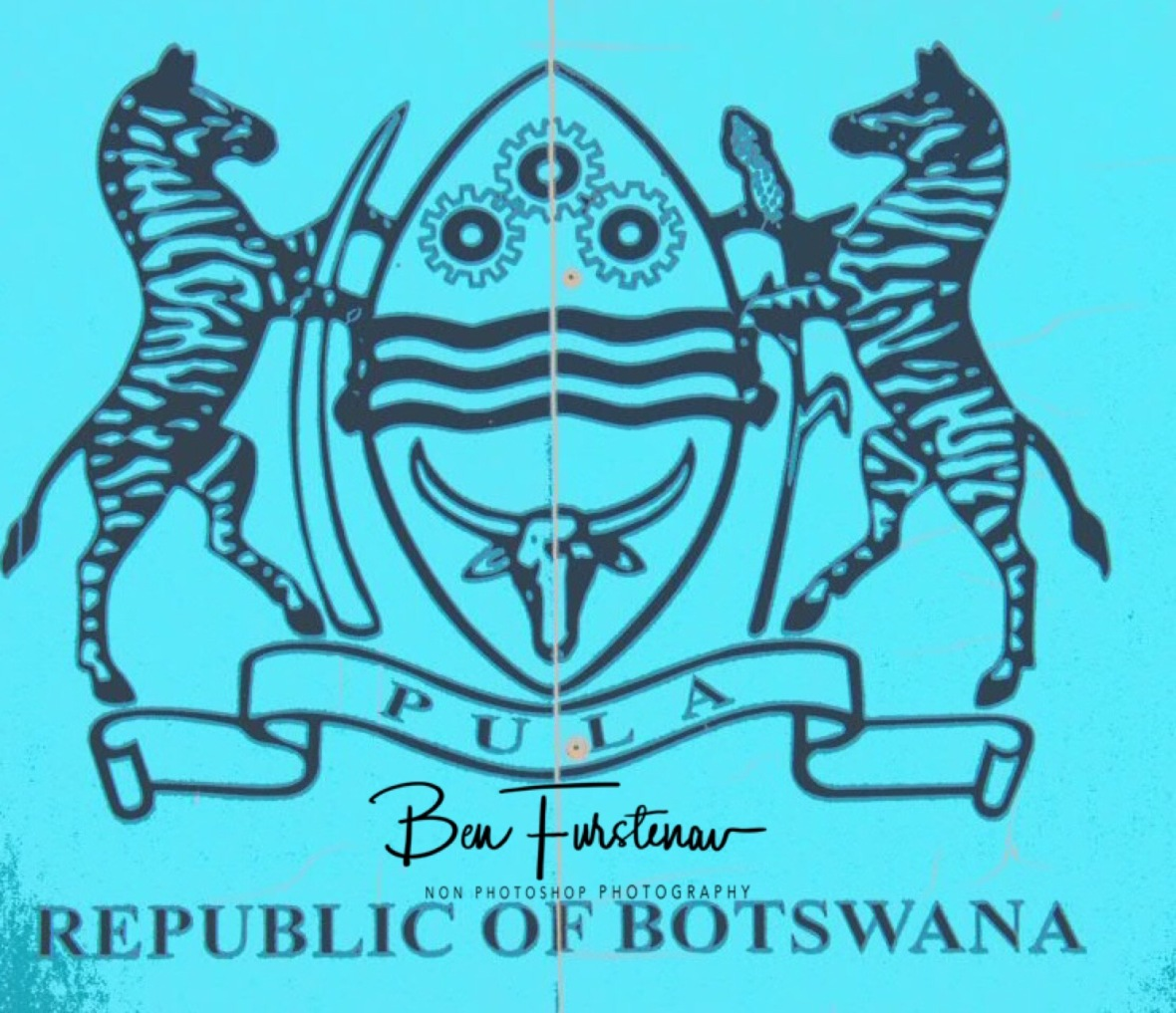 'Coat off arms', Botswana