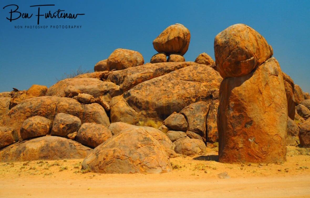 Devils Marbles?, Brandberg Mountains, Namibia