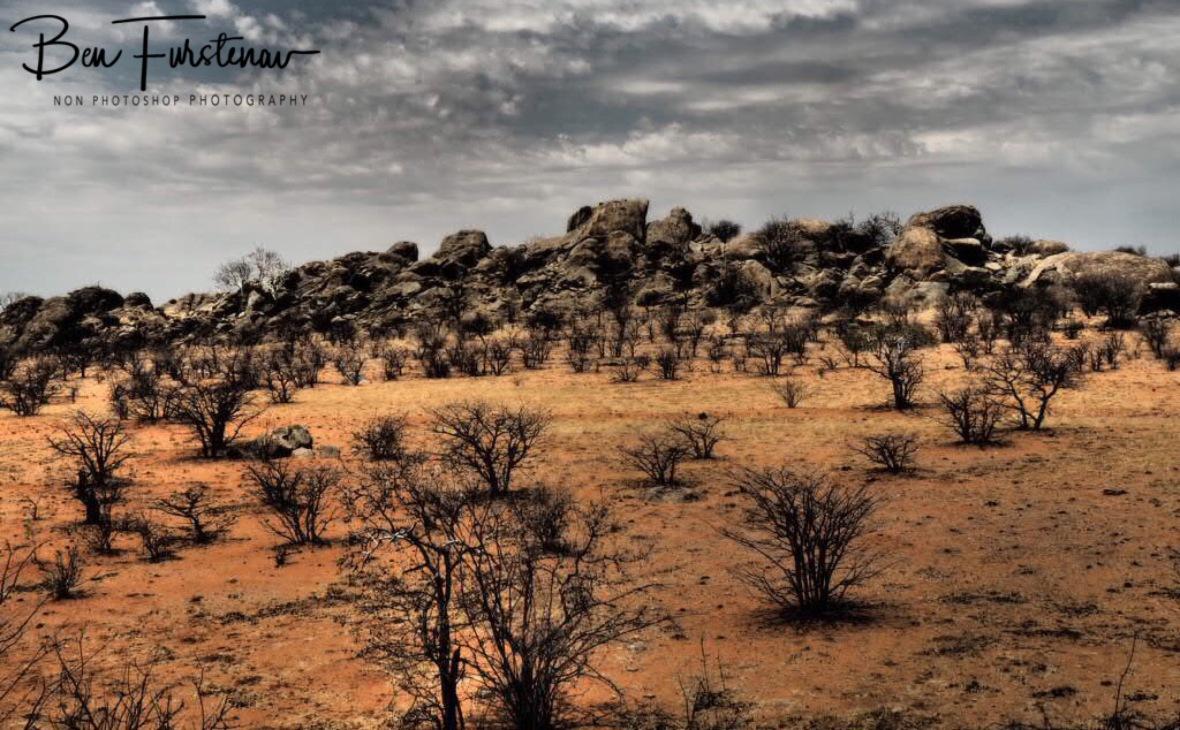 Boulders piled up, Groote Berge, Kaokoveld, Namibia