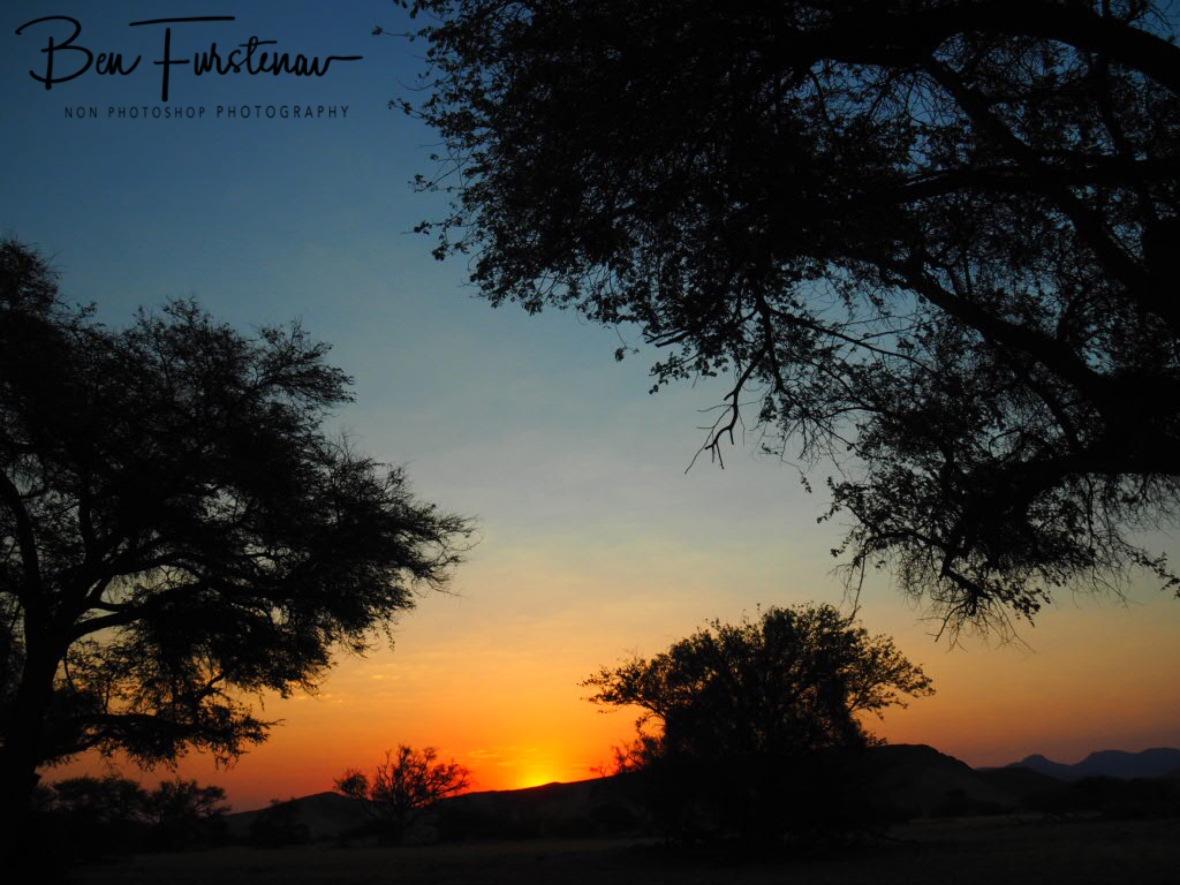 Last fading ligh, Damaraland, Namibia