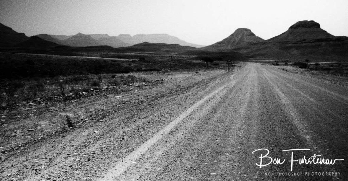 Surreal desert image, Groote Berge, Kaokoveld, Namibia