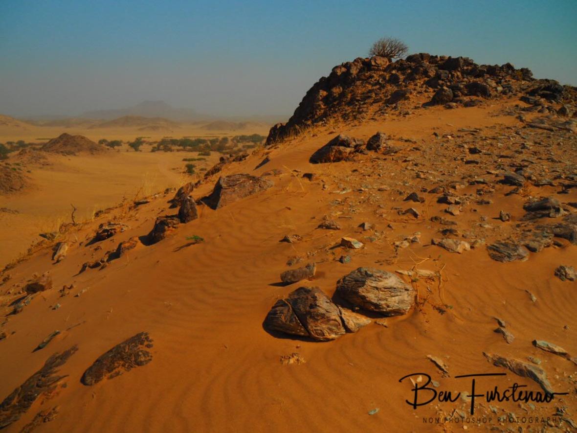 Desert view, Damaraland, Namibia