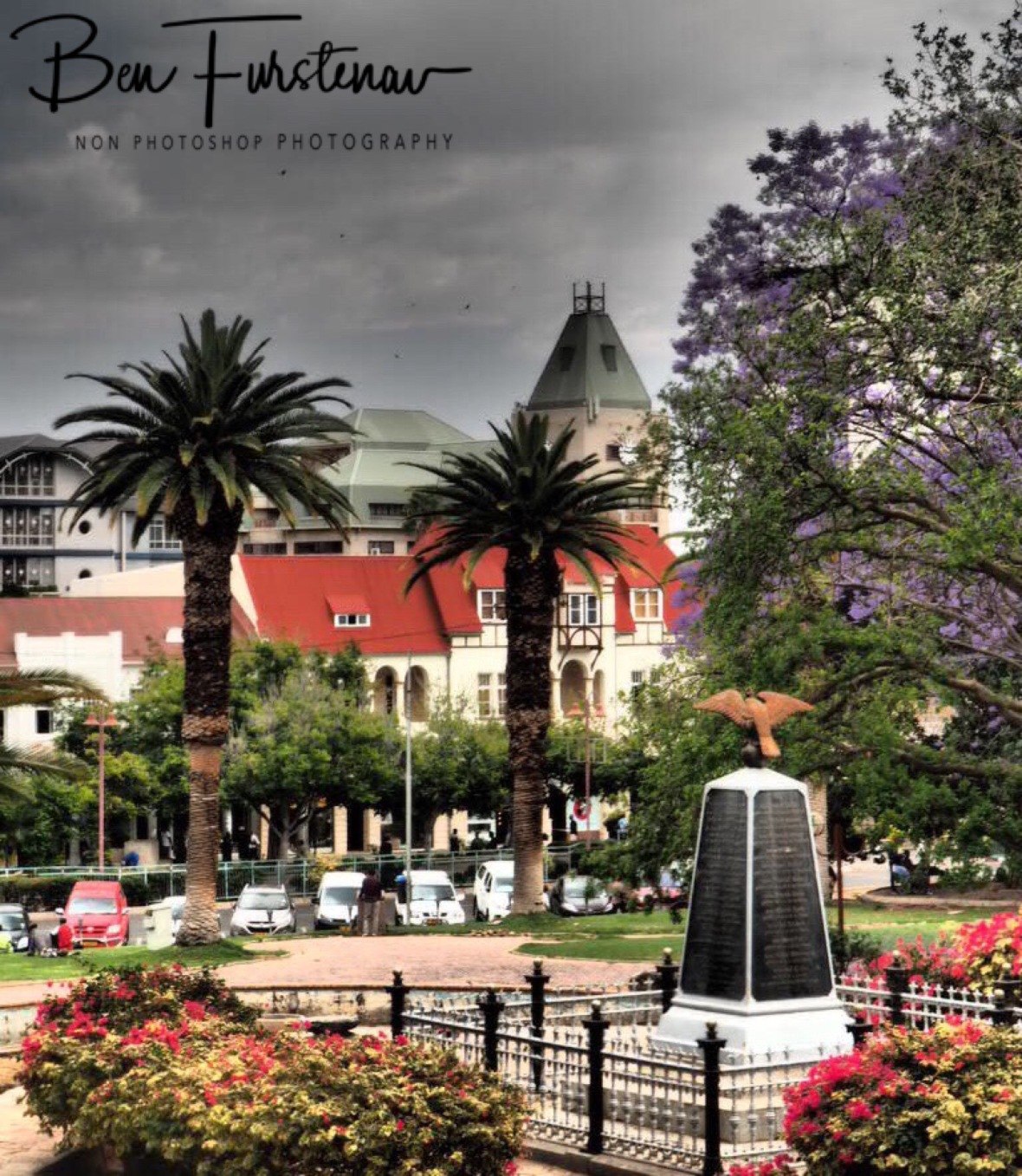 Colonial flair, Windhoek, Namibia
