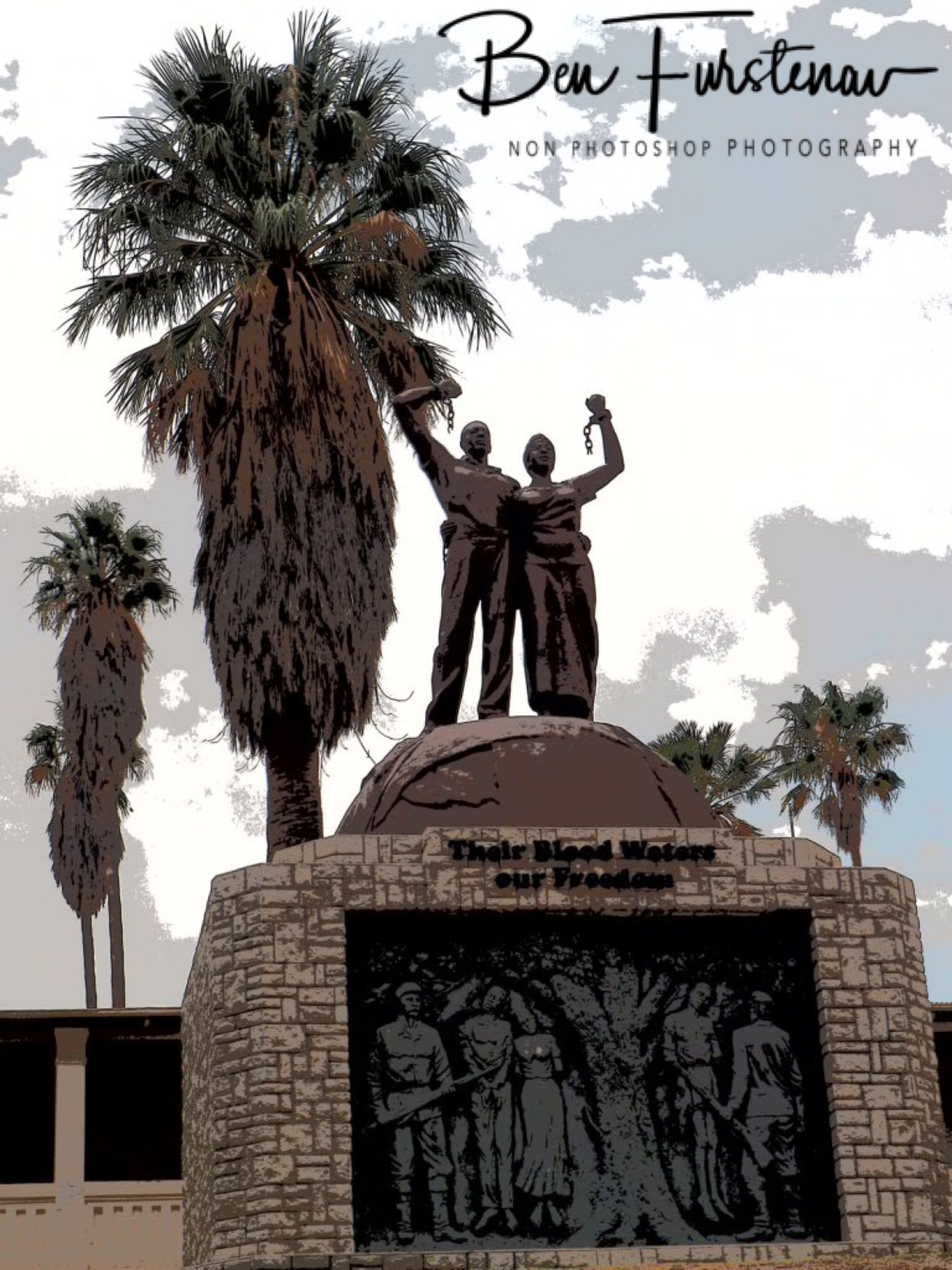 Independence monument, Windhoek, Namibia