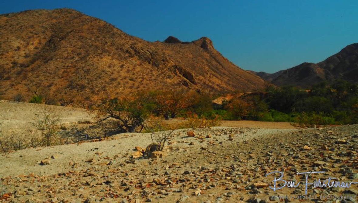 Hoamib River gorge, Groote Berge, Kaokoveld, Namibia