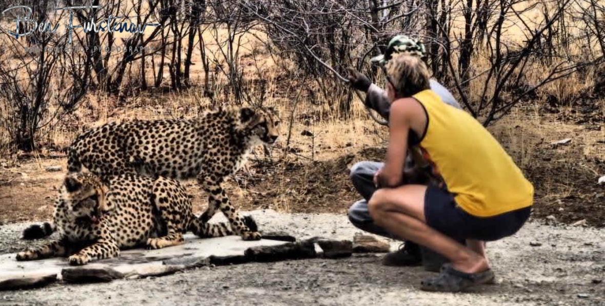 Amazingly cool feeling, Sophienhof, Outjo, Namibia