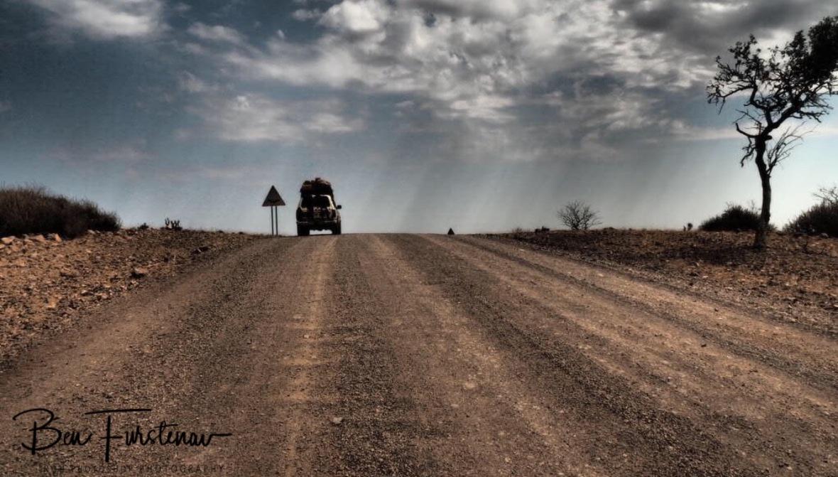 Just passed Groote Berge pass, Kaokoveld, Namibia