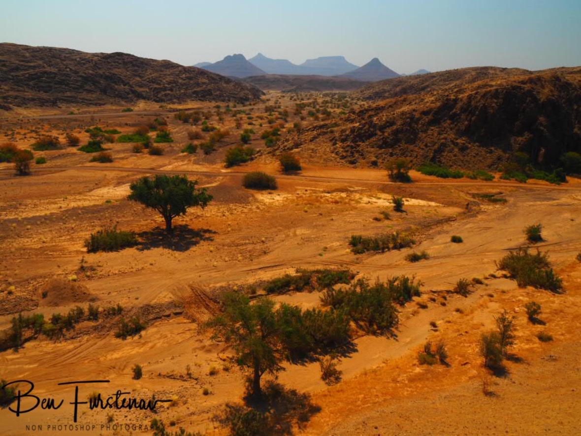 Riverbed highway, Damaraland, Namibia