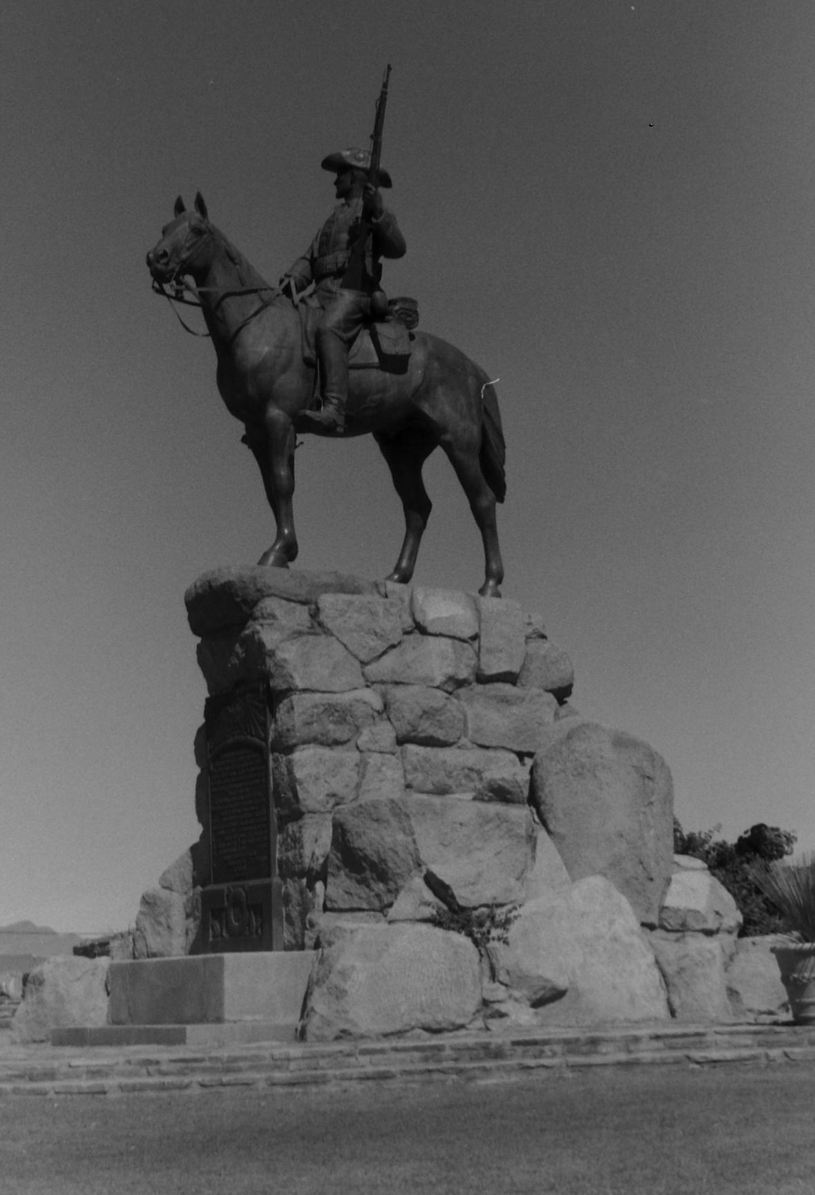 Reiterdenkmal in Windhoek, Namibia