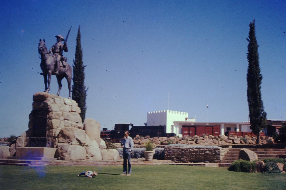 Reiterdenkmal and Alte Feste in Windhoek, Namibia