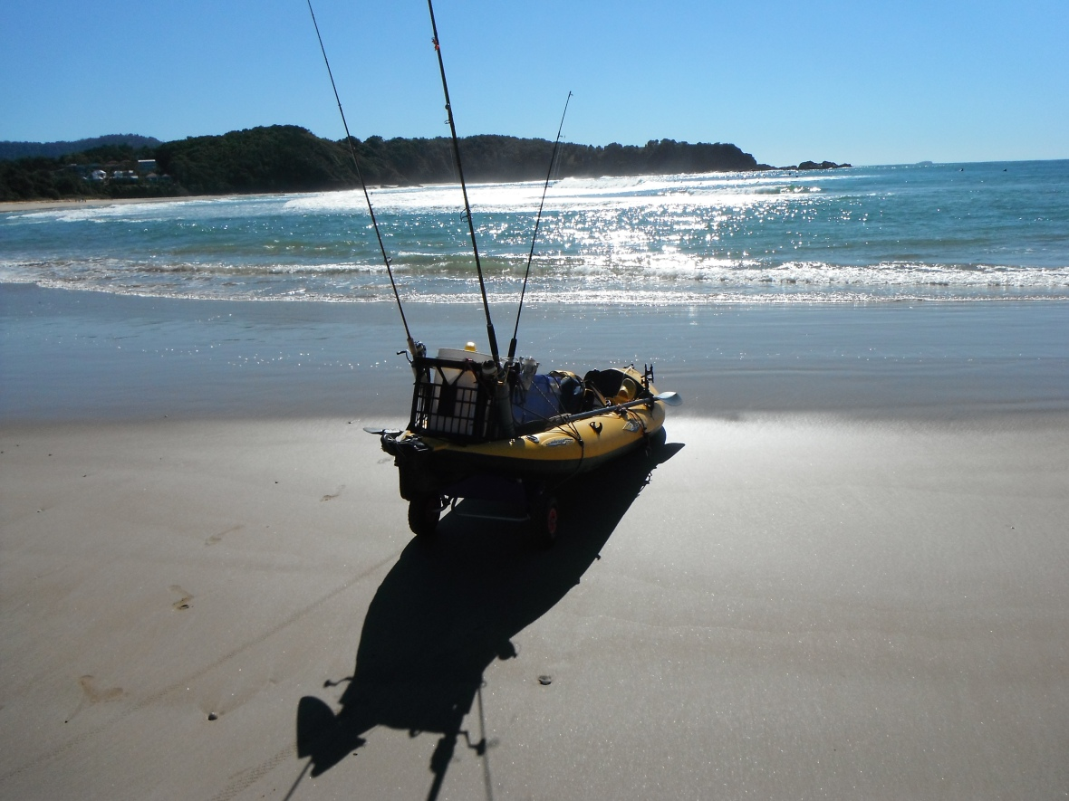 Maniyak ready to go from Diggers Beach, New South Wales, Australia