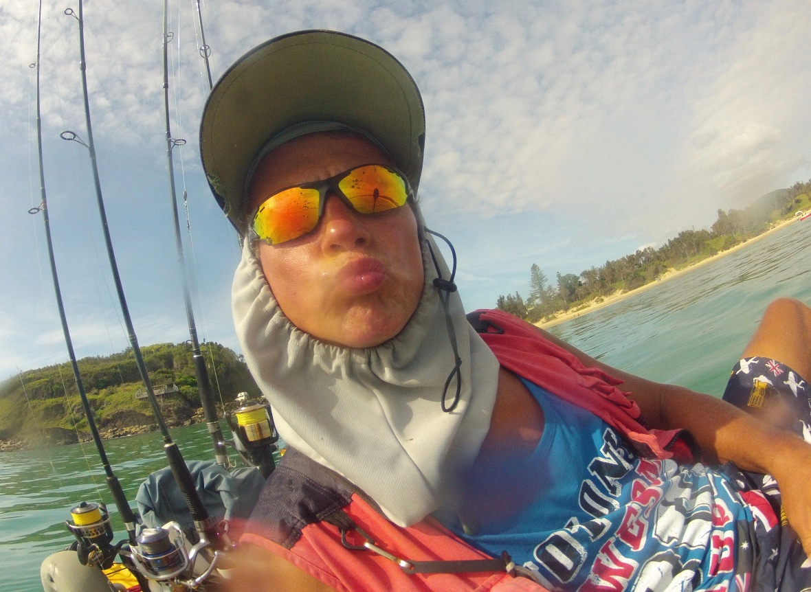 Shenanigans on the water, New South Wales, Australia
