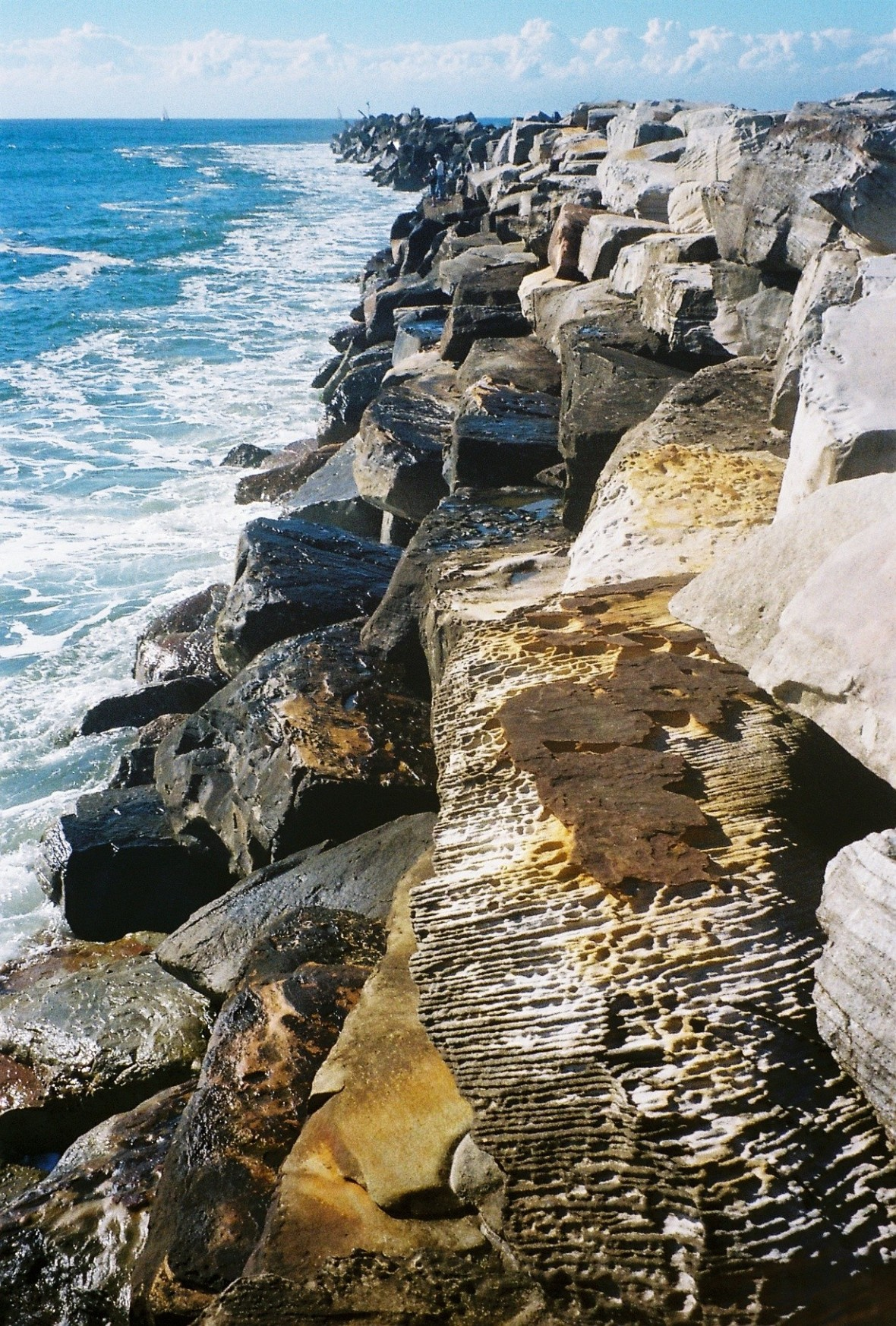 Iluka Break Wall, Iluka, New South Wales, Australia